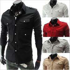 2017 spring autumn men u0027s long sleeve solid color casual dress