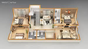 3 D Floor Plans by 3d Floor Plans Pixarch