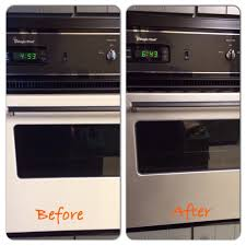 transform appliances with stainless steel appliance spray paint