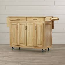 napa kitchen island august grove epping kitchen island with wood top reviews wayfair