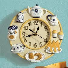Pendule Murale Cuisine by Horloge Moderne Cuisine Horloge Murale Effet Bois Et Tle D915cm