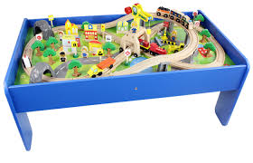 thomas the train wooden track table thomas and friends wooden toy train play set with wooden children s