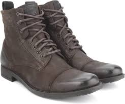 buy boots flipkart levi s york lace boots for buy brown color levi s