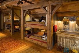 rustic bunk bed building plans rustic bunk beds twin over full