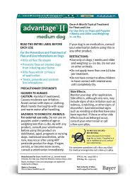 amazon com bayer advantage ii flea and lice treatment for medium