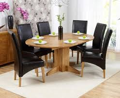 kitchen table round 6 chairs monte carlo 6 seater round extending dining table with roma chairs
