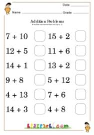 addition worksheets for grade 1 add up to 17 basic addition worksheets for class 1 printable