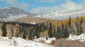 Colorado where to travel in october images Breckenridge colorado usa ski resort sun flare log cabin trees jpg