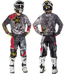 rockstar motocross gear fly racing 2017 5 kinetic mesh racewear transworld motocross