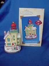 hallmark lighthouse ornaments ebay