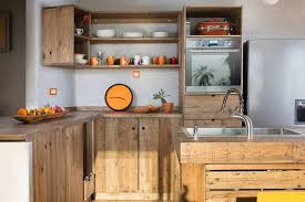 kitchen cabinets from pallet wood pallet kitchen remodel a of rainbow