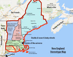 Map Of New England Coast by New England Map Showing Attractions Accommodation Download Map