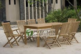 Teak Outdoor Dining Table And Chairs Amazing Folding Outdoor Dining Table Sets Teak Patio Furniture