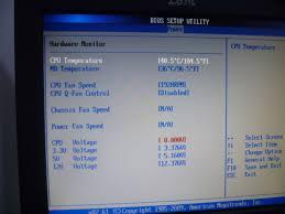 Cpu Over Temperature Error Press F1 To Resume