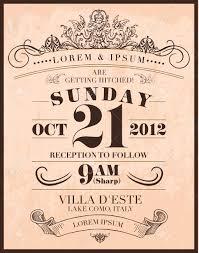 Wedding Invitation Card Template Wedding Invitation Card Template Vector Illustration Royalty Free