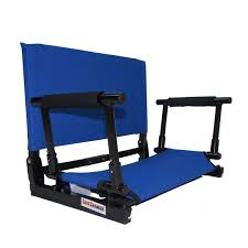 the new deluxe wide stadium chair gamechanger bleacher seat with