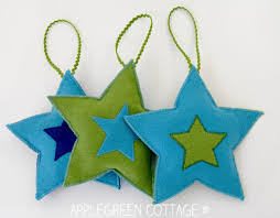 diy decorations felt free pattern applegreen