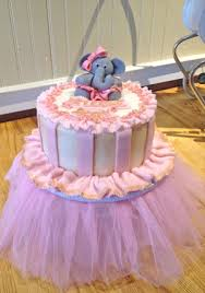 tutu baby shower cakes shower cakes from the solvang bakery adorable elephant and tutu