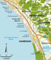 Map Of Central Italy by Map Of The Tuscan Coast Tuscany Toscana Italy Maps And
