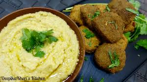 Hummus Kitchen How To Make Falafel And Hummus Falafel With Hummus Recipe