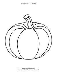 Pumpkin Template pumpkin templates paper pumpkins printables for pdf