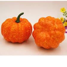2017 new halloween artificial pumpkin simulation fake lifelike
