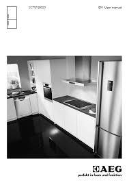 aeg integrated fridge freezer sct81800s0 user manual