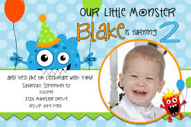 Designs For Birthday Invitation Cards The Monster Birthday Invitations Printable Invitations Templates
