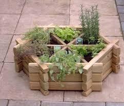garden decor fantastic small herb garden landscaping using rustic