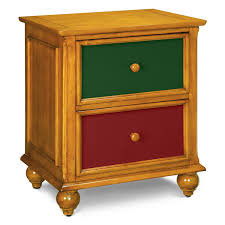 jordan full corner bed black value city furniture colorworks nightstand honey pine