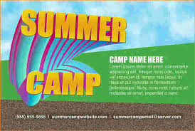 camp flyer template kids summer camp flyer template kids summer