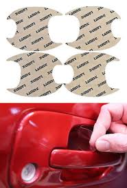subaru legacy 15 17 door handle cup paint protection