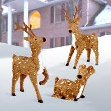 Lighted Reindeer Christmas Decoration Sale by Outdoor Christmas Light Displays You U0027ll Love Wayfair