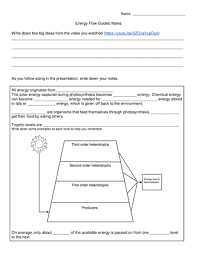 seventh grade lesson energy flow in ecosystems betterlesson