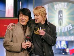 2003 Jackie Chan Und Owen Wilson 2003 Fotos Der Stars Bei Mtv Trl