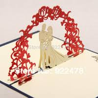 wholesale 3d pop up wedding invitations buy cheap 3d pop up