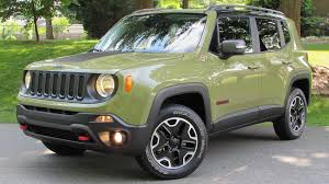 new jeep renegade green 2015 jeep renegade trailhawk start up road test and in depth