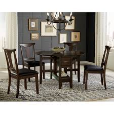 the dining room brooklyn aamerica brooklyn heights 5 piece gate leg dining set with t back