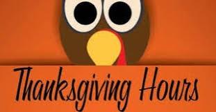 buehler ymca thanksgiving hours thursday november 24