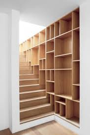 Bookshelves On The Wall Staircase Accessories Glass Wooden And Metal Founterior