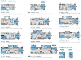 motorhome floor plans with bunk beds