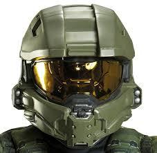 halo master chief full helmet for kids buycostumes com