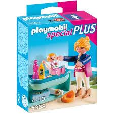chambre bébé playmobil playmobil 5368 maman avec bébé et table à langer achat vente