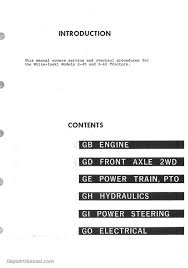 white 2 45 2 62 diesel field boss tractor service manual