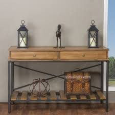Metal And Wood Sofa Table by Metal Scroll Sofa Table Memsaheb Net