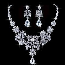 wedding jewelry women s wedding jewellery sets fashion earrings pendant