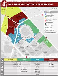 Ball State Parking Map by Gostanford Com Stanford Athletics