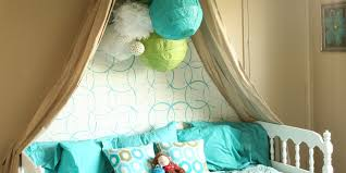 girls bed with canopy big girls bedroom reveal