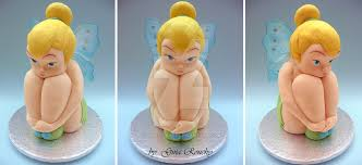 3d cake tinkerbell 3d cake by ginas cakes on deviantart