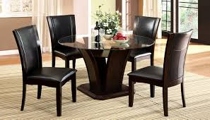 Black Round Dining Table And Chairs Dining Room 4 Chair Dining Room Sets Engaging Chairs Dining Room